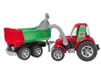 Bruder Traktor Roadmax s prikolico 20116