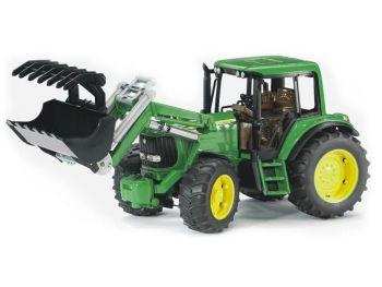 Bruder Traktor z nakladalko John Deere 6920 02052