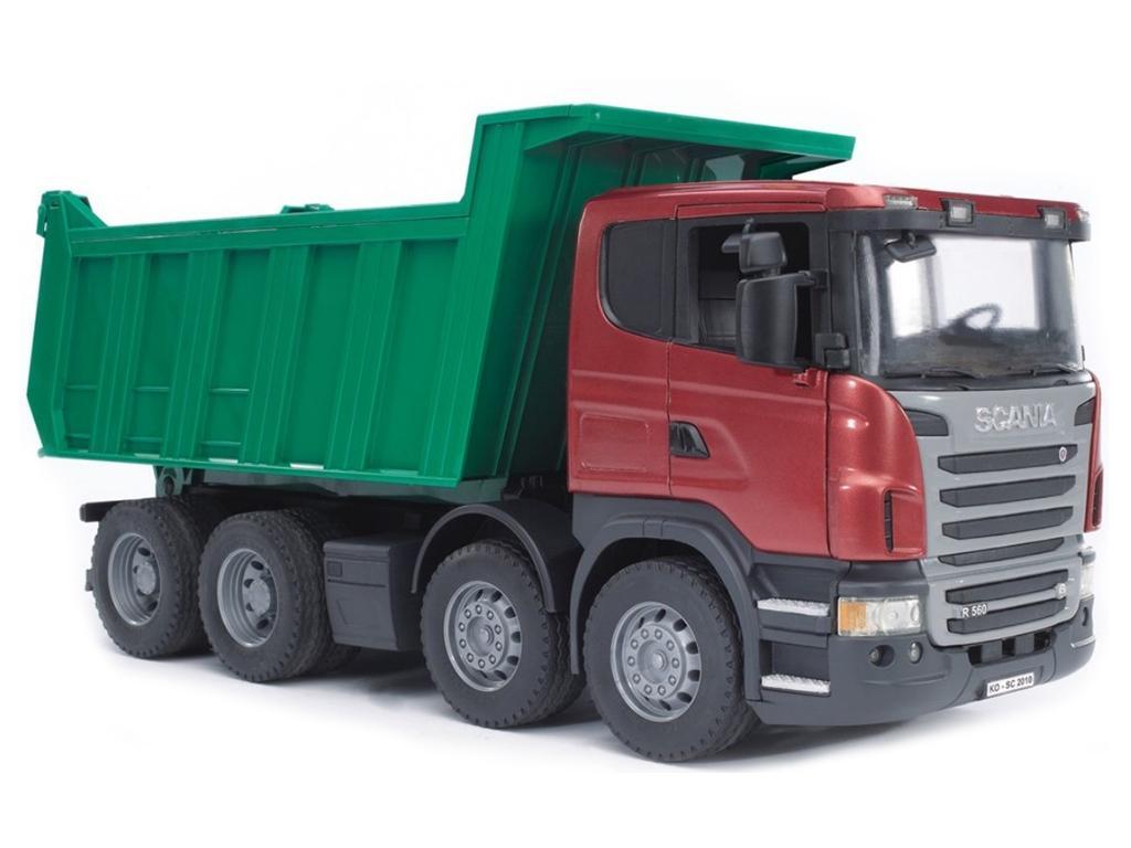 Bruder Tovornjak kiper Scania 03550 eigrače