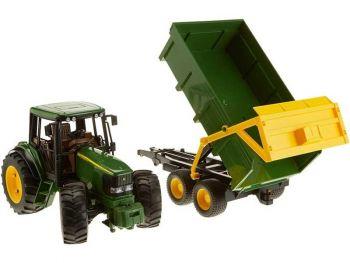 Bruder Traktor s prikolico John Deere 6920 02058