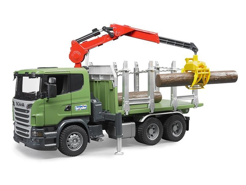Bruder kamion Transporter lesa Scania 03524