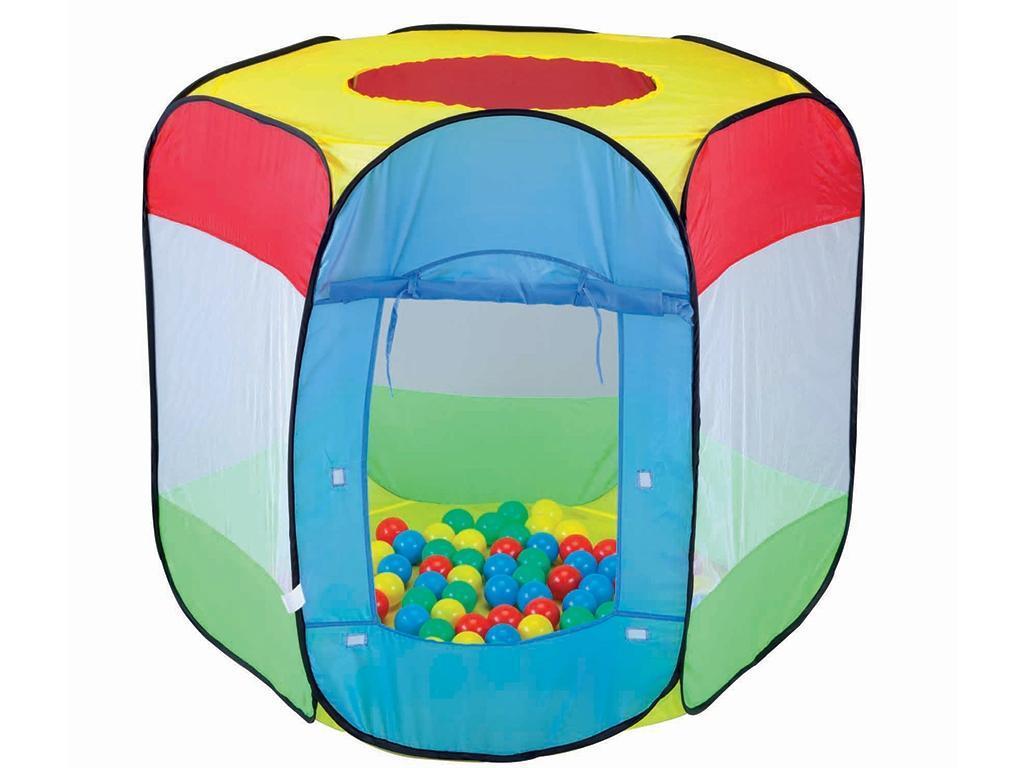 Otroški šotor z žogicami