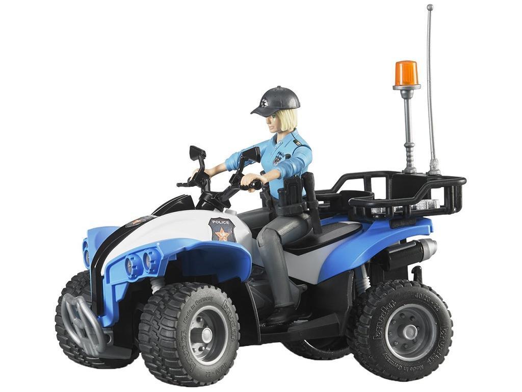 Bruder Policijski Štirikolesnik s policistko 63010 eigrače