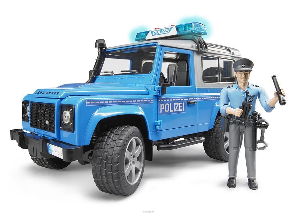 Bruder 02597 Land Rover policijski Jeep