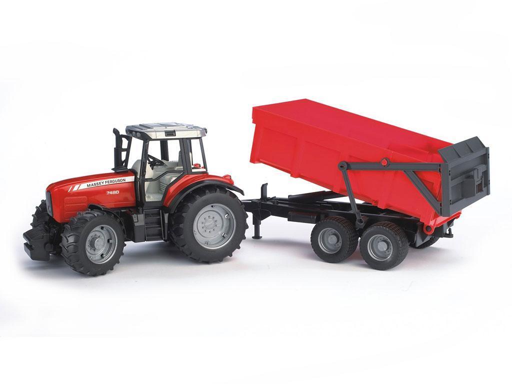 Bruder Traktor Massey Ferguson 7480 eigrače