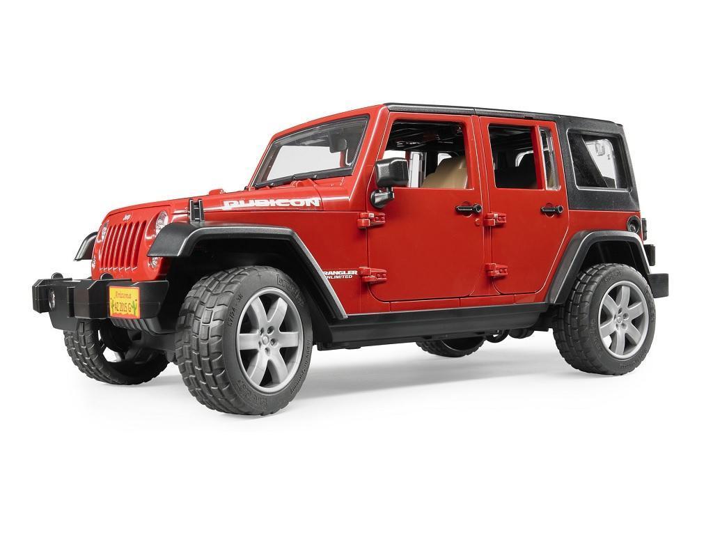 Bruder Jeep Wrangler Unlimited Rubicon 02525 eigrače