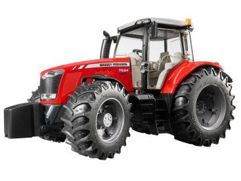 Bruder traktor MASSEY FERGUSON 7600 03046