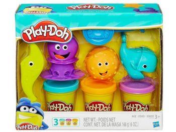 Plastelin Play-Doh Morski pripomočki