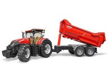 Bruder traktor z prikolico
