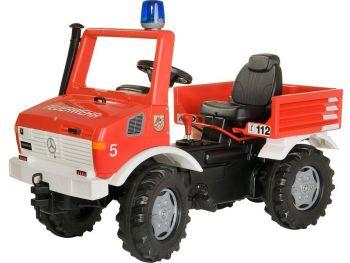 otroški gasilski avto na pedala rolly Toys