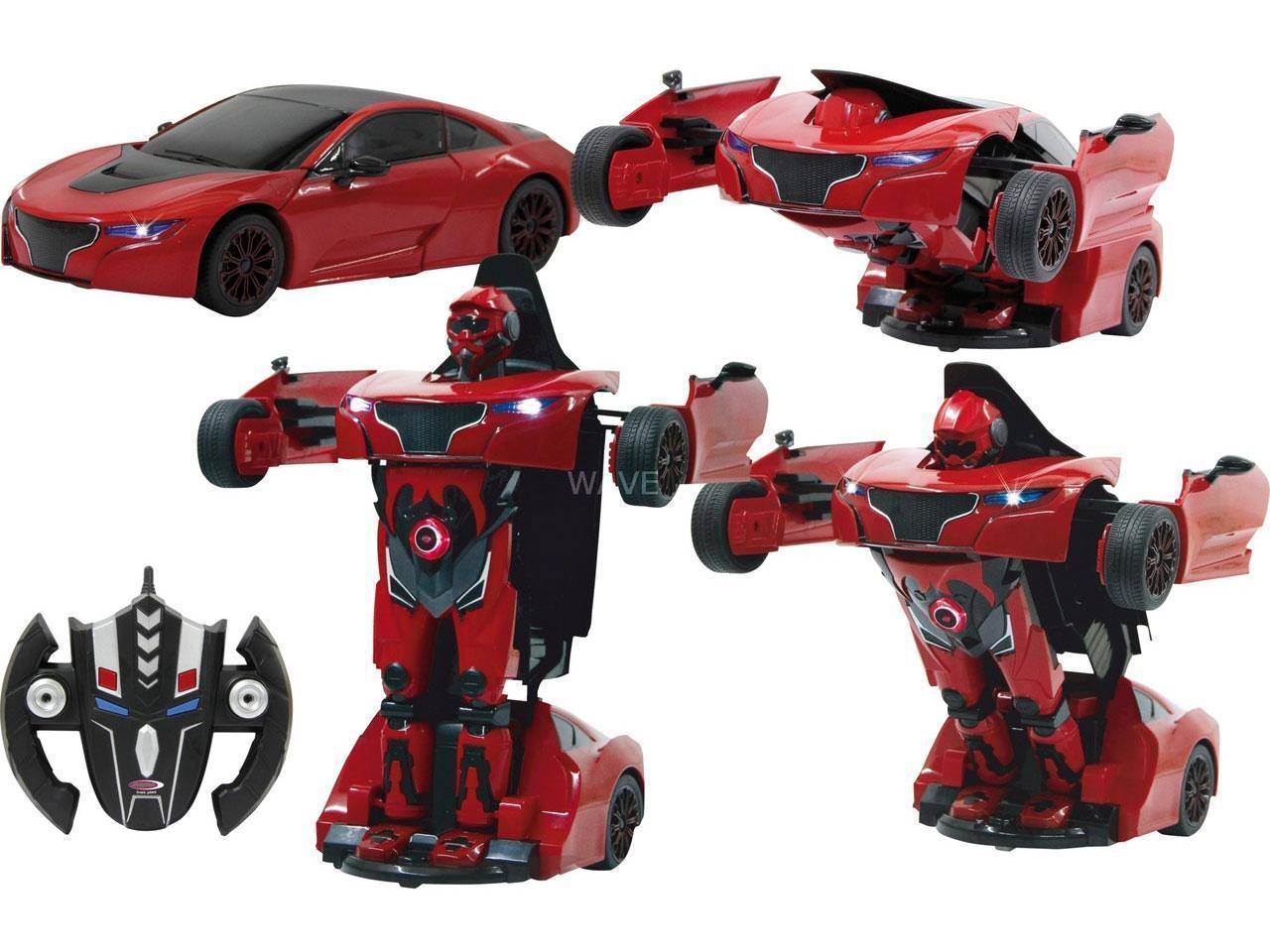 RC avto Robicar Transformer 2.4GHz rdeč