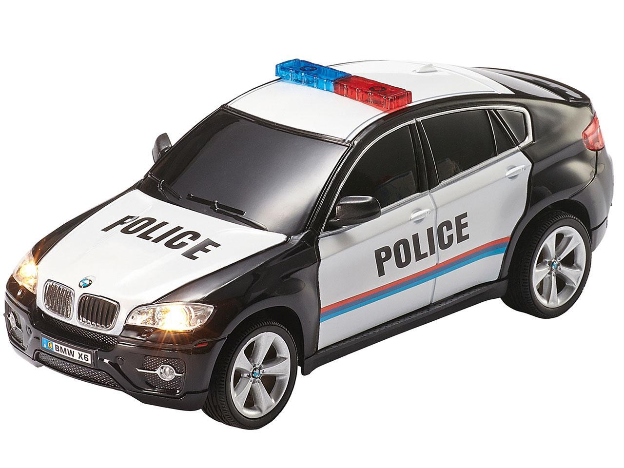 Avto na daljinca Revell RC BMW X6 Police
