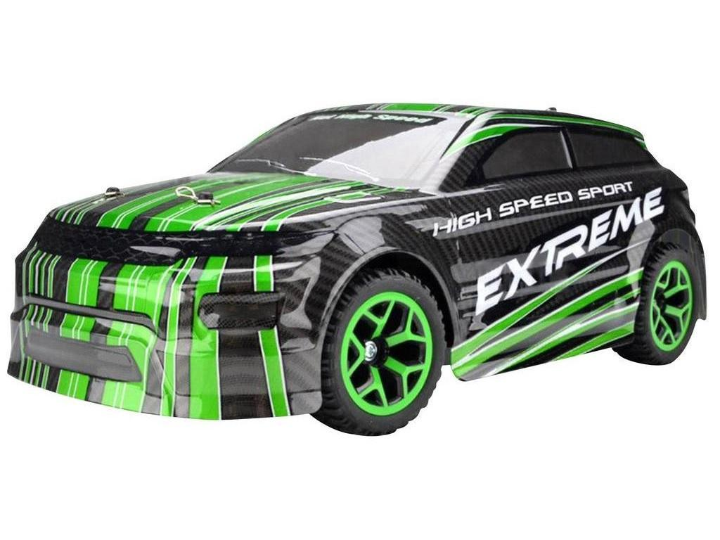 Rallye Car AM-5 green 1:18 4WD
