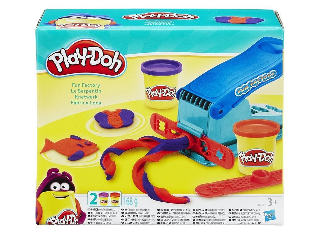 Plastelin PlayDoh tovarna za barve set