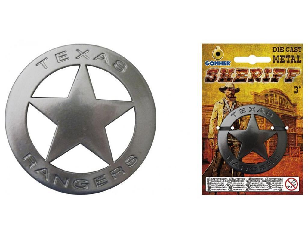Šerifova zvezda - kovinska Gonher