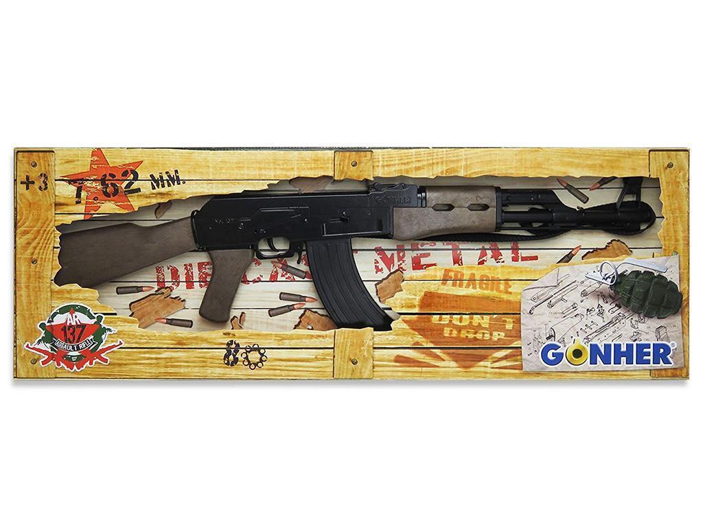 Otroška puška AK 47 Kalašnikov Gonher 137/6