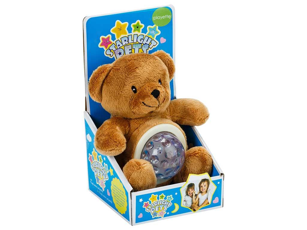 Starlight pets nočna lučka medvedek