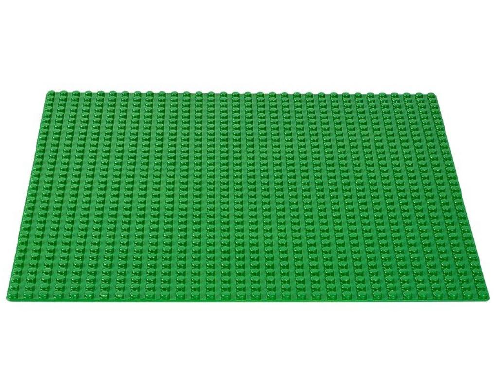 lego kocke zelena plošča