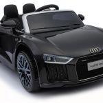 Avto na akumulator Audi R8 črn