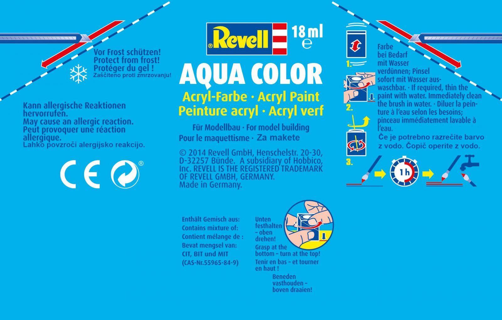 vodne barve revell