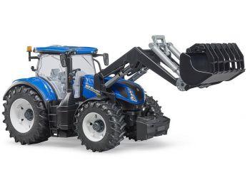 Bruder Traktor New Holland s sprednjo nakladalko 03121