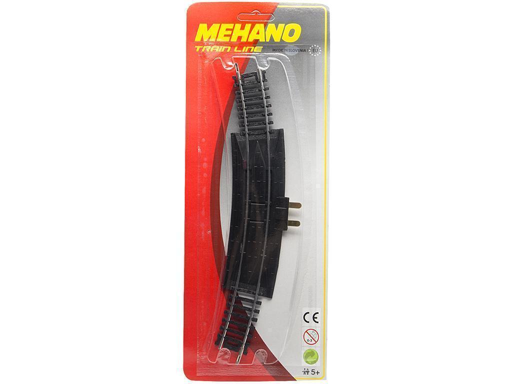Tračnice vpeljalni tir Mehano