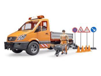 Bruder MB Sprinter komunalno vozilo 02537