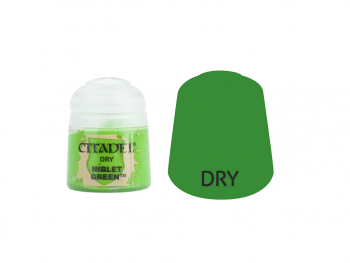 Warhammer barva Dry Niblet Green 23-24
