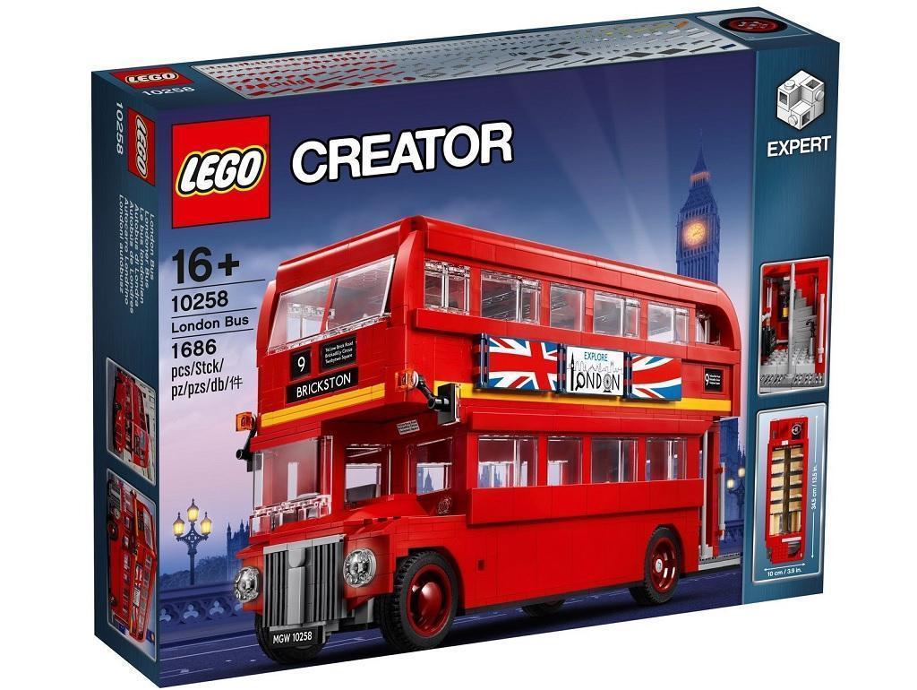 LEGO kocke Creator Londonski dvonadstropni avtobus 10258