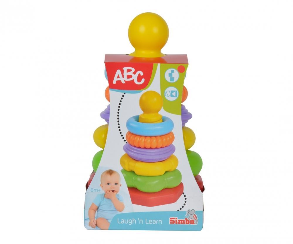 Igrača Piramida za zlaganje ABC Simba