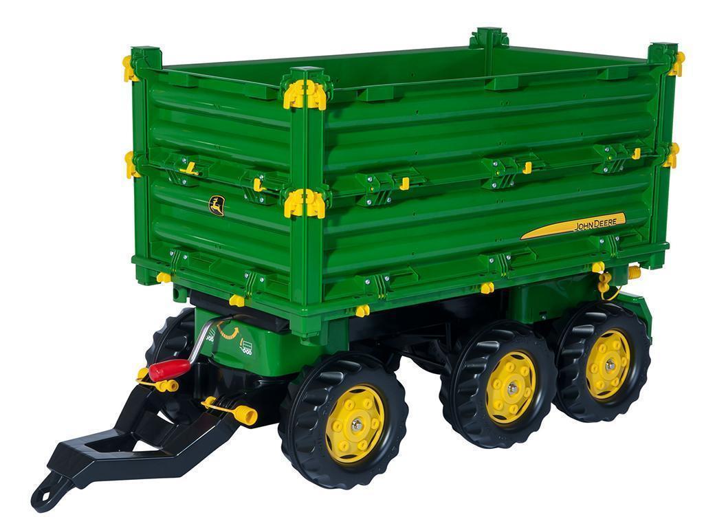 Rolly Toys otroška prikolica rollyMulti Trailer John Deere 125043