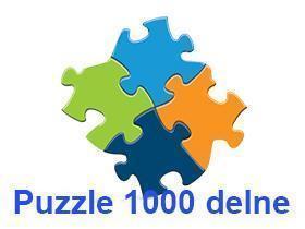 Puzzle 1000 delne