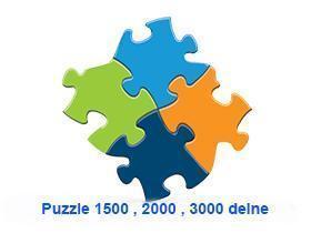 Puzzle 1500,2000,3000 delne