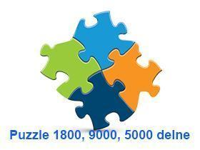 Puzzle 5000,9000,18000 delne