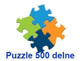 Puzzle 500 delne