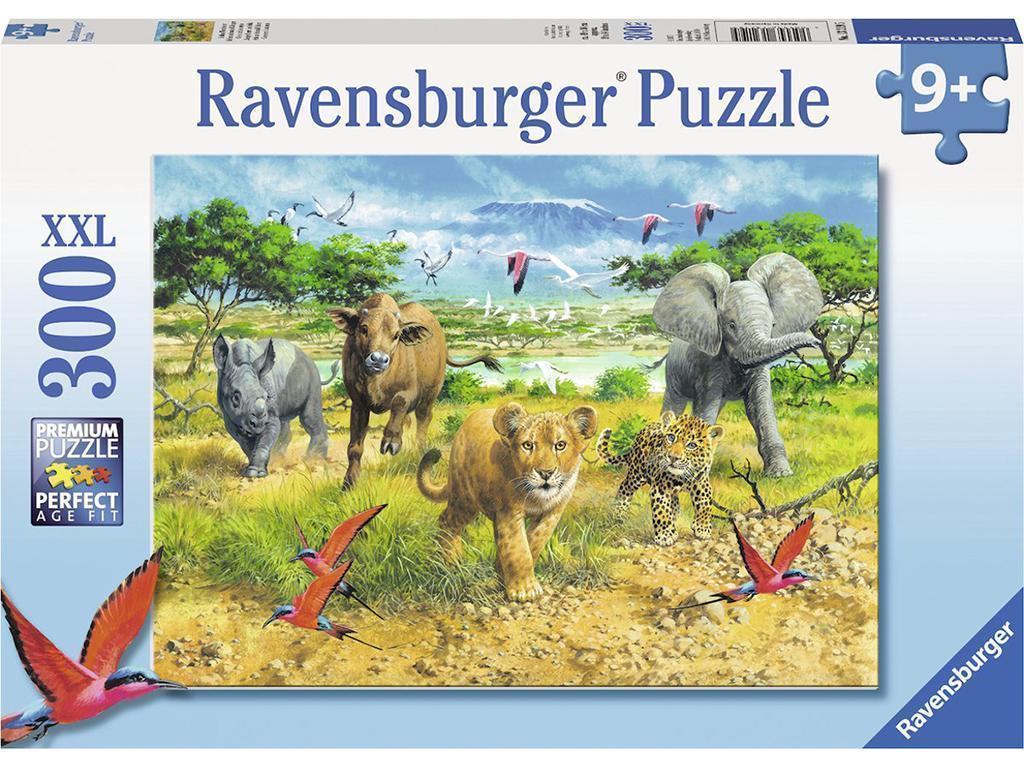 Sestavljanke Ravensburger Divje živali v savani