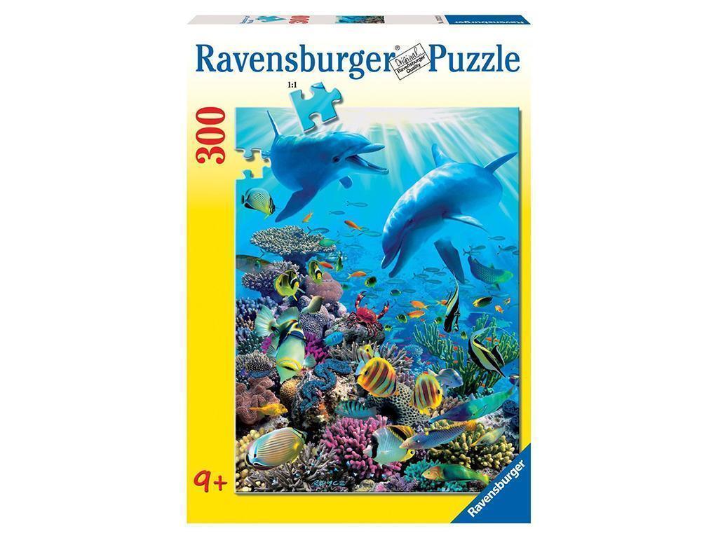 Sestavljanke Ravensburger Podvodne norčije delfinov 300