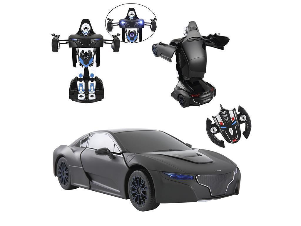 RC avto Robicar Transformer 2.4GHz črn
