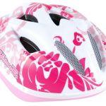 Otroška kolesarska čelada pink
