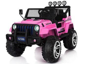 Avto na akumulator Off Road Jeep