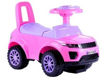 Otroški poganjelec avto Pink