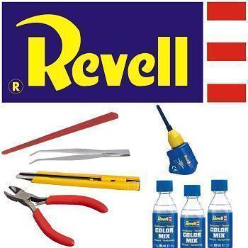 Revell barve in pripomočki