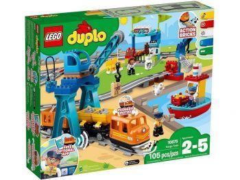 Lego kocke Duplo Tovorni vlak 10875