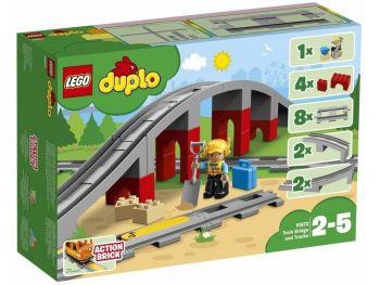 LEGO kocke DUPLO Železniški tiri in most 10872