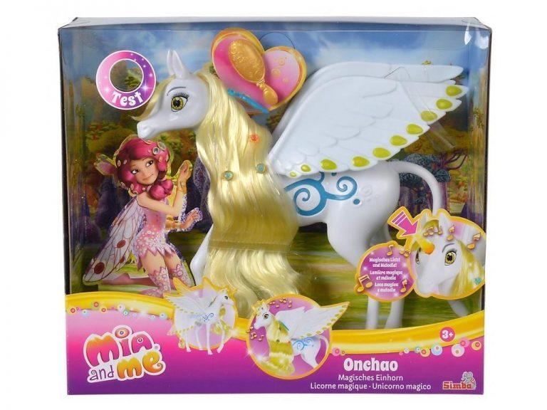 Mia in jaz MIA & ME konj samorog Onchao