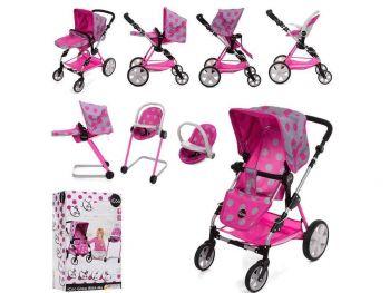 Otroški voziček igrača Icoo 4v1