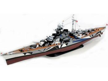 Maketa vojne ladje Bismarck Tamiya