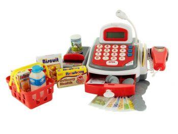 Otroška registerska blagajna s skenerjem
