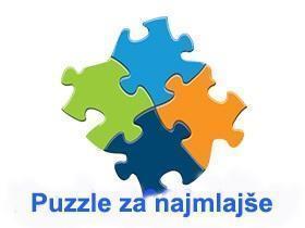Puzzle za najmlajše