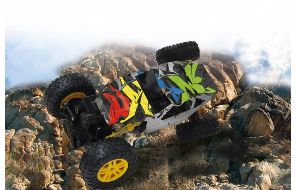 Hillriser-1-18-Crawler-4WD-24G-silber